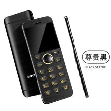 Ulcool V6 card phone ultra slim bluetooth with mp3 FM dual SIM mobile cell phone