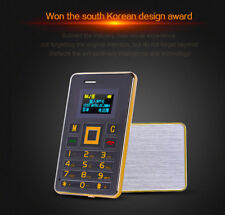 AEKU K5 Ultra Thin Mini Phone Student Mobile Phone Card Phone FM Bluetooth