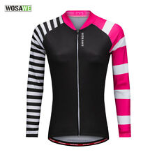 High elastic Women Cycling Riding Jerseys Breathable Outdoor Sports Coats Spring