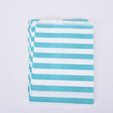 25pcs Stripe Candy Paper Bags Sweet Favour Buffet Gift Shop Party Cake Wedding