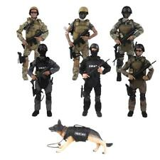 1/6 Scale Action Figure Army Special Forces Soldier with Accessories Toy Set