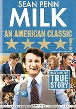 Milk (DVD, 2009) Sean Penn WORLDWIDE SHIPPING AVAIL!