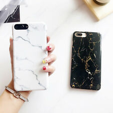 Fashion Hard PC Marble Texture Luxury Phone Case Cover For iPhone 6 6s 7 8 Plus