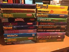 Huge Lot of Nintendo NES Games IN BOX - Pick a Title *Mega Man, Zelda, Mario*