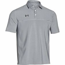 Under Armour Men's Clubhouse Striped Polo Golf Shirt, Assorted Colors 1270402