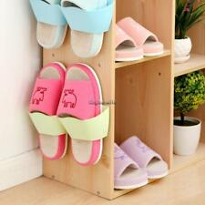 Creative Home Wall Door Mounted Hanging Shoes Shelf Rack Storage Holder CaF8 01