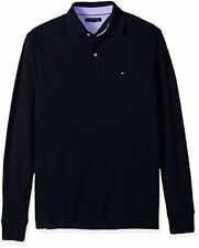 Tommy Hilfiger Men's Big and Tall Long Sleeve Polo Shirt - Choose SZ/Color