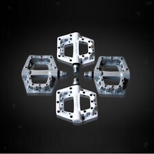"1 Pair Aluminum Alloy CNC Mountain Road Bike Pedals 9/16"" MTB Bicycle Pedals"