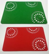 Set of 4 Table Sets / PLACEMAT - Decor Sunshine