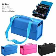 Portable 80 Slots Carrying Bag Storage Case Organizer for Touch Five Marker Pens