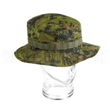 Military Style Boonie Cap in Cadpat Camo Invader Gear Airsoft Paintball Mens cap