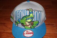 NEW ERA 9FIFTY NINJA TURTLES LEONARDO SNAPBACK HAT TMNT CAP HUGE LOGO RARE NEW
