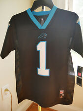 NFL Licensed Jersey New York Giants Cam Newton #1 Youth  S M L XL NEW