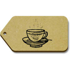 'Hot Cup Of Tea' Gift / Luggage Tags (Pack of 10) (vTG0015179)