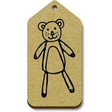 'Teddy Bear' Gift / Luggage Tags (Pack of 10) (vTG0001751)