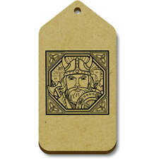 'Square Viking Motif' Gift / Luggage Tags (Pack of 10) (vTG0007237)