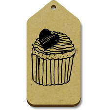 'Heart Cupcake' Gift / Luggage Tags (Pack of 10) (vTG0017222)