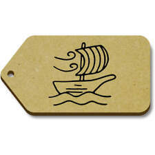 'Sail Boat' Gift / Luggage Tags (Pack of 10) (vTG0017787)