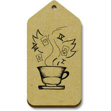 'Tea Cup' Gift / Luggage Tags (Pack of 10) (vTG0016186)