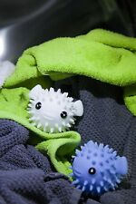 Wool Dryer Balls, Reusable, Set of 2 Fabric Softeners & Clean & Soften Clothes