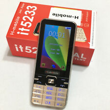 H-mobile it5233 dual SIM dual standby mobile phone 3.2 inch screen cell phone