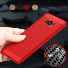Luxury Shockproof Ultra Thin PC Mesh Hard Back Case Cover For Samsung Galaxy