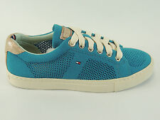 Tommy Hilfiger Hilton 4M Ladies Sneaker Shoes Gymnastic Lifestyle Suede Size 37