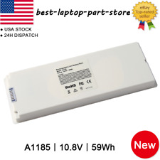 """Lot Charger Battery For Apple Macbook 13"""" A1185 A1181 MA561 MA566 59W White"""
