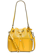 MICHAEL Michael Kors Greenwich Medium Bucket Leather Bag was $328