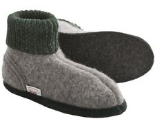 WESENJAK Boiled Wool Slippers GREY HEATHER for Women and Men CHOOSE YOUR SIZE