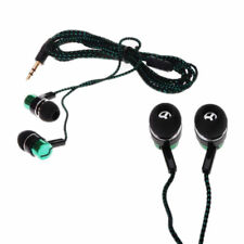 Ear Headphone Chic Subwoofer Earbud Stereo MP3/Mp4 Metal Roping Earphone 3.5mm