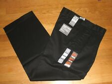 Dockers Iron Free Khaki Pants Classic Fit D3 Pleated All Motion Comfort Black