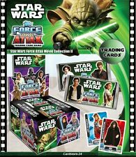 Star Wars Force Attax - Movie Card Series 2 - Star Cards 193 - 212 - NEW
