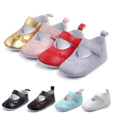 Soft Sole PU Leather Baby Shoes Boy Girl Toddler Kids Children Crib Shoes 0-12M