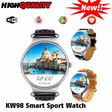KW98 Smart Watch Android 5.1 3G network WIFI GPS MTK6580 for iOS Android Phone