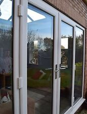 WHITE UPVC FRENCH DOOR SET   1160mm wide ***NEW*** Made to measure