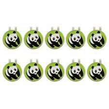 10 Pcs Alloy Golf Hat Clip with Magnetic & Detachable Ball Marker, 4 Styles