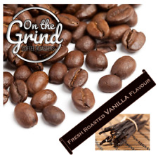Madagascan Vanilla Flavoured coffee Beans 100% Arabica Freshly Roasted to order