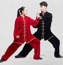 Autumn Winter Kung fu Tai chi Uniform Martial arts Wushu Clothes Wing Chun Suit
