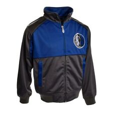 Dallas Mavericks Youth Split Track Jacket (Charcoal)