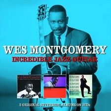 Incredible Jazz Guitar  Artist Wes Montgomery [SAME DAY DISPATCH * NEW SEALED]