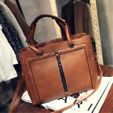 Women Fashion PU Leather Bag Lady Handbag Shoulder Satchel Travel Purse Satchel
