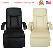 Electric TV Massage Recliner Sofa Chair Heated Executive Couch Lounge 2 Color
