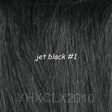 #1 jet black Invisible Wire Hair Extension Real Hair 80g 90g100g120g 170g 200g