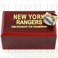 Year 1994 NEW YORK RANGERS Stanley Cup Championship Solid Ring 10-13Size