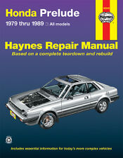 Haynes Publications 42040 Repair Manual Honda Prelude