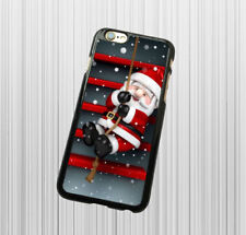 for iPhone X iPhone 10 Plastic Case Cover - Santa Christmas Gift