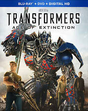 Transformers: Age of Extinction (JUST Blu-ray, 2014, 2-Disc Set)