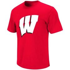Wisconsin Badgers Womens Primary Logo T-Shirt (Red)