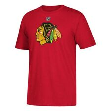 Chicago Blackhawks NHL Patrick Kane Authentic Shield Name And Number Tee (Red)
